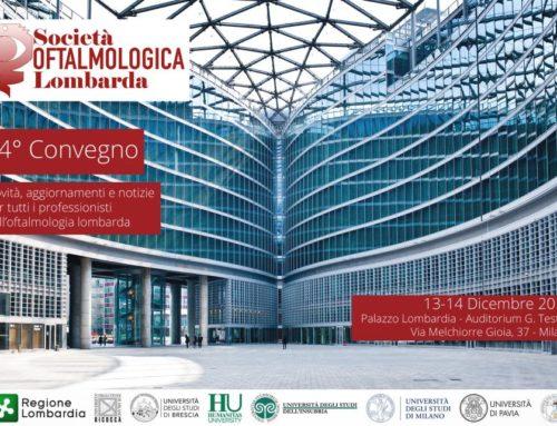 Società Oftalmologica Lombarda – 74° Convegno – 13 e 14 Dicembre 2019